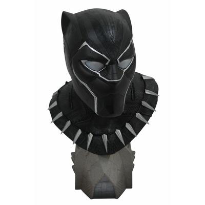 Buste Black Panther Legends in 3D Black Panther 25cm