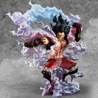 Statuette One Piece Excellent Model P.O.P. SA-Maximum Monkey D. Luffy Gear 4 Snake Man 26cm