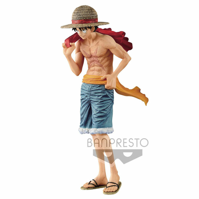 Statuette One Piece Monkey D. Luffy Cover of 20th Anniversary One Piece Magazine 22cm