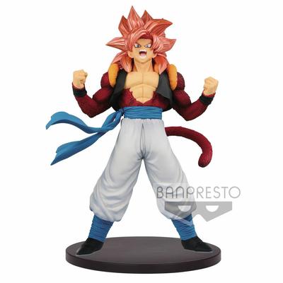 Statuette Dragon Ball GT Blood of Saiyans Super Saiyan 4 Gogeta Metallic Hair Color 20cm