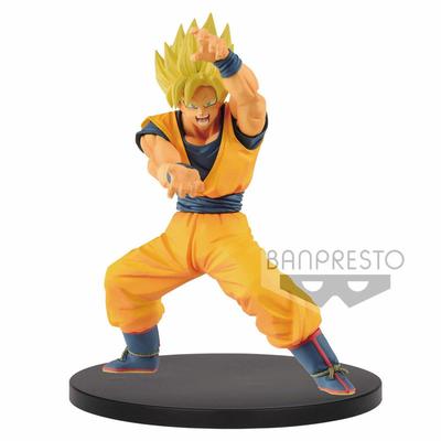 Statuette Dragon Ball Super Chosenshi Retsuden Super Saiyan Goku 16cm