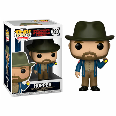 Figurine Stranger Things Funko POP! Hopper & Flashlight 9cm