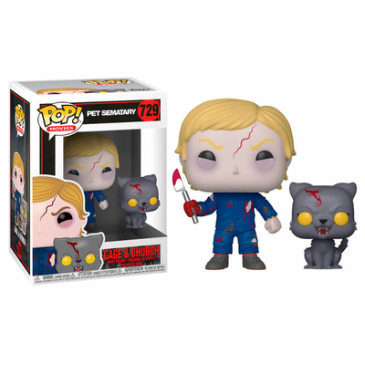 Figurine Simetierre Funko POP! Undead Gage & Church 9cm
