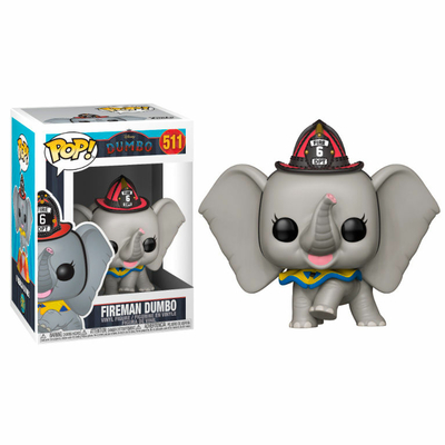 Figurine Dumbo Funko POP! Disney Fireman Dumbo 9cm
