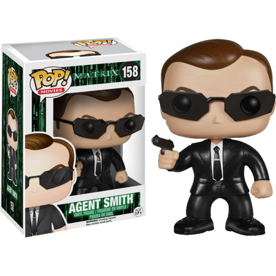 Figurine Matrix POP! Agent Smith 9 cm