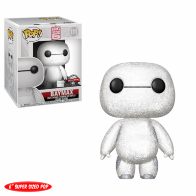 Figurine Big Hero 6 Funko POP! Baymax Diamond Exclu 15cm