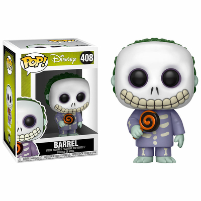 Figurine L´étrange Noël de Mr. Jack Funko POP! Barrel 9cm