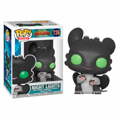 Figurine How to Train your Dragon 3 Funko POP! Night Lights I 9cm
