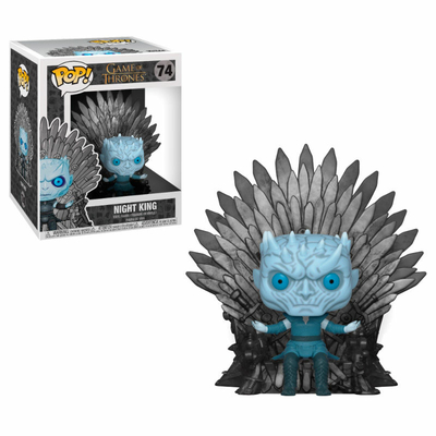 Figurine Game of Thrones Funko POP! Night King on Iron Throne 15cm
