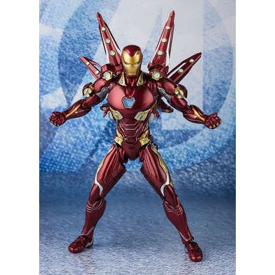 Set Avengers Endgame S.H. Figuarts Iron Man MK50 Nano Weapon Set 2