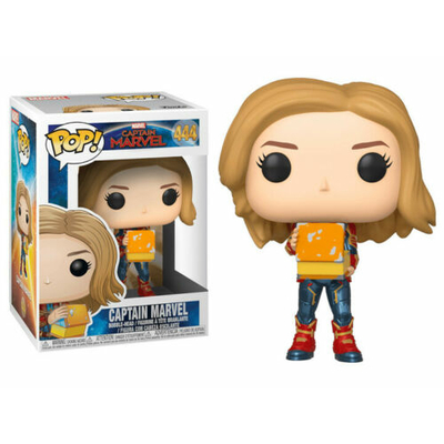 Figurine Captain Marvel Funko POP! Marvel Bobble Head Captain Marvel w/Lunch Box 9cm