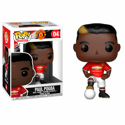 Figurine Football Funko POP! Paul Pogba Manchester United 9cm