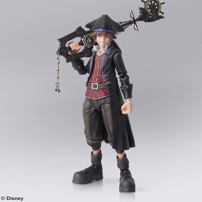 Figurine Kingdom Hearts III Sora Pirates of the Caribbean Ver. 15cm