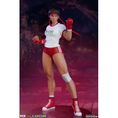 Statuette Street Fighter Sakura Gym 42cm
