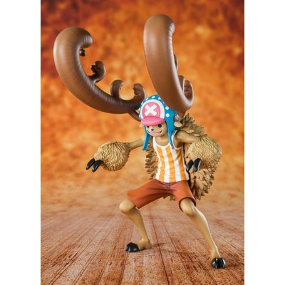 Statuette One Piece Figuarts Zero Cotton Candy Lover Chopper Horn Point Ver. 14cm