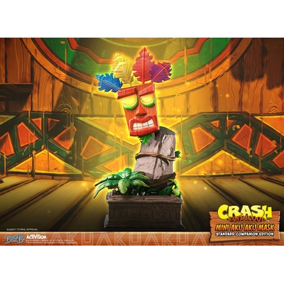 Statuette Crash Bandicoot Mini Aku Aku Mask 40cm