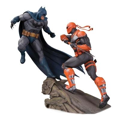 Statuette DC Comics Battle Batman vs. Deathstroke 30cm