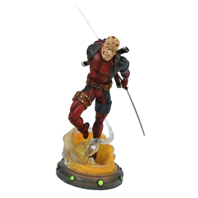 Statuette Marvel Gallery Unmasked Deadpool 25cm