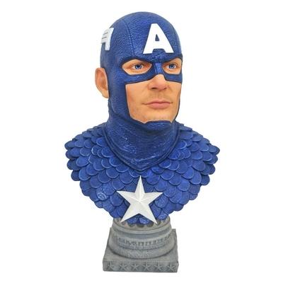 Buste Marvel Comics Legends in 3D Captain America 25cm