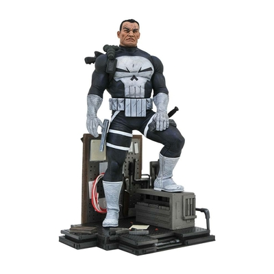Diorama Marvel Comic Gallery The Punisher 23cm