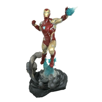 Diorama Avengers Endgame Marvel Movie Gallery Iron Man MK85 23cm