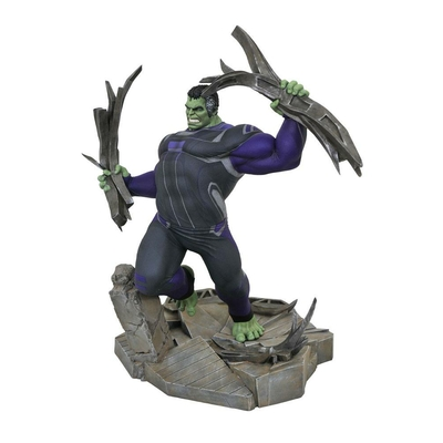 Diorama Avengers Endgame Marvel Movie Gallery Tracksuit Hulk 23cm