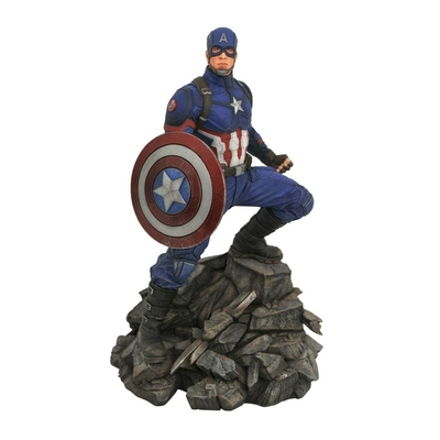 Statuette Avengers Endgame Marvel Movie Premier Collection Captain America 30cm