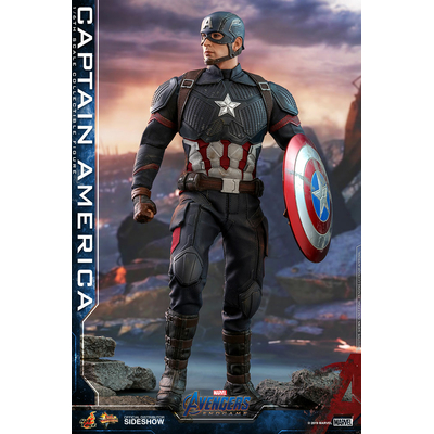 Figurine Avengers Endgame Movie Masterpiece Captain America 31cm