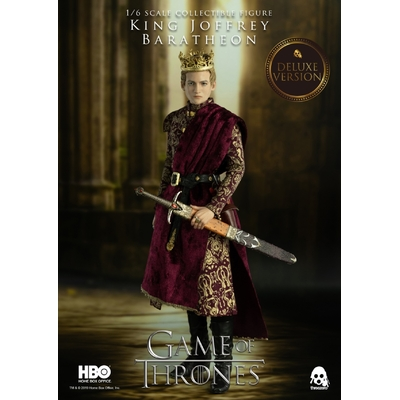 Figurine Game of Thrones King Joffrey Baratheon Deluxe Version 29cm