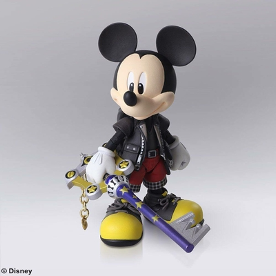 Figurine Kingdom Hearts III Bring Arts King Mickey 9cm