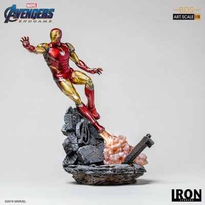Statuette Avengers Endgame BDS Art Scale Iron Man Mark LXXXV 29cm