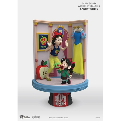 Diorama Ralph 2.0 D-Stage Snow White & Vanellope 15cm