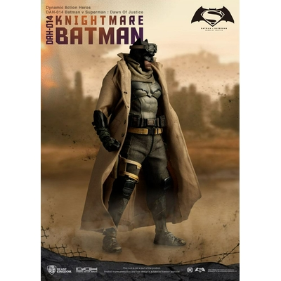 Figurine Batman vs Superman Dawn of Justice Dynamic Action Heroes Knightmare Batman 20cm