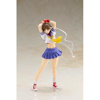 Statuette Street Fighter Bishoujo Sakura Round 2 - 22cm