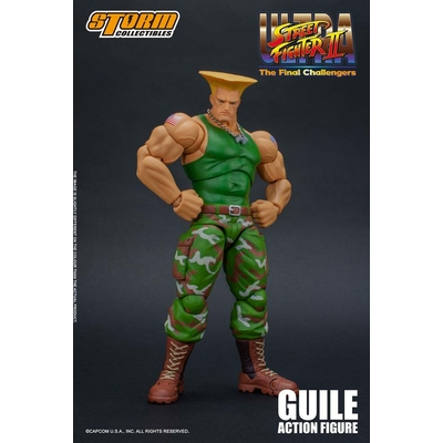Figurine Ultra Street Fighter II The Final Challengers Guile 16cm