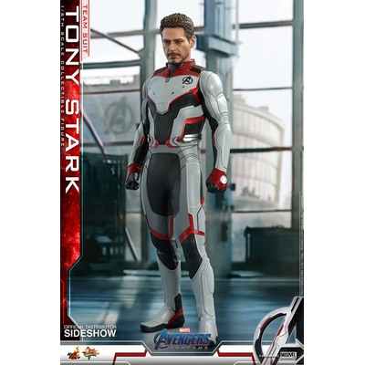 Figurine Avengers Endgame Movie Masterpiece Tony Stark Team Suit 30cm