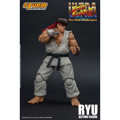 Figurine Ultra Street Fighter II The Final Challengers Ryu 16cm