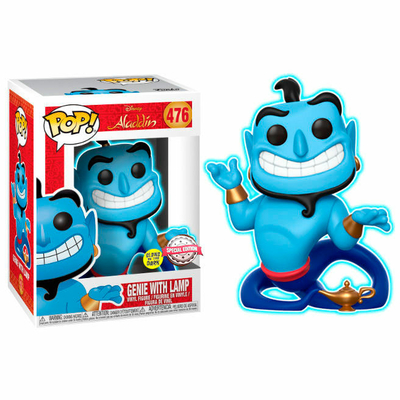 Figurine Aladdin Funko POP! Disney Speciality Series Genie with Lamp GITD 9cm