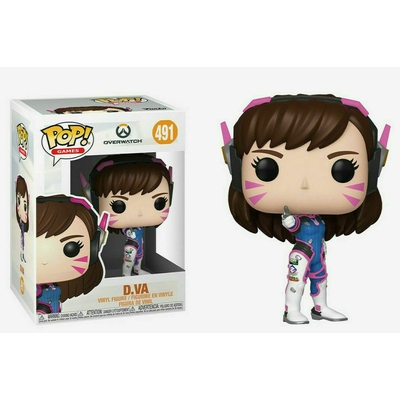 Figurine Overwatch Funko POP! D.Va 9cm