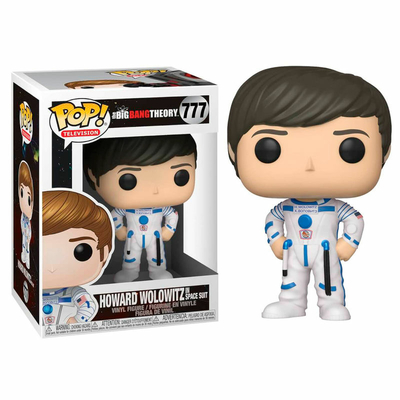 Figurine The Big Bang Theory Funko POP! Howard 9cm