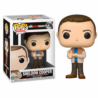 Figurine The Big Bang Theory Funko POP! Sheldon 9cm