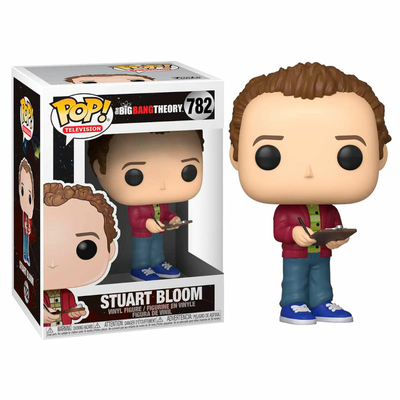 Figurine The Big Bang Theory Funko POP! Stuart 9cm