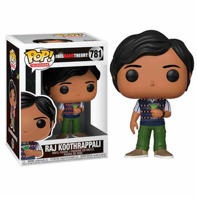 Figurine The Big Bang Theory Funko POP! Raj 9cm