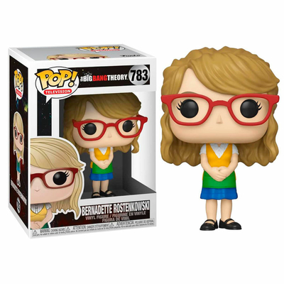 Figurine The Big Bang Theory Funko POP! Bernadette 9cm