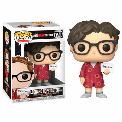 Figurine The Big Bang Theory Funko POP! Leonard 9cm