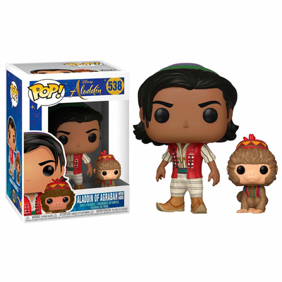 Figurine Aladdin Funko POP! Disney Aladdin & Abu 9cm