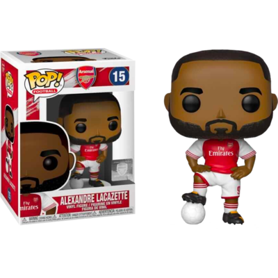 Figurine Football Funko POP! Alexandre Lacazette Arsenal 9cm
