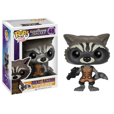 Figurine Les Gardiens de la Galaxie POP! Rocket Raccoon 10 cm
