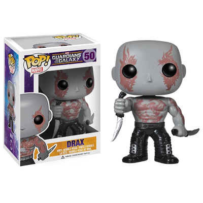 Figurine Les Gardiens de la Galaxie POP! Drax The Destroyer 10 cm