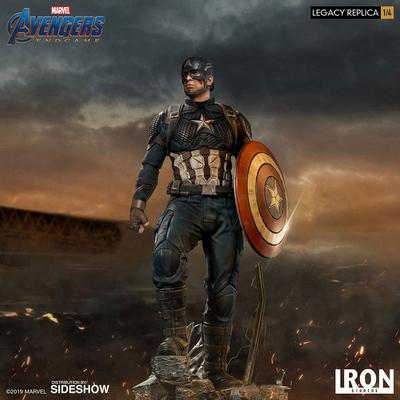 Statuette Avengers Endgame Legacy Replica Captain America 59cm